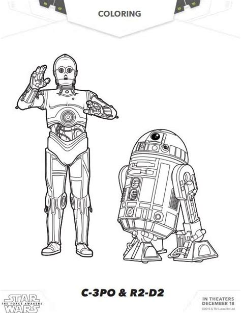 coloring pages wars awakens wars the awakens coloring pages and activity