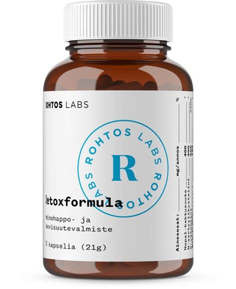Rohtos Detox Formula by The Hangover Cure Pill From Finland Rohtos Detoxformula