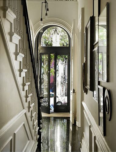 townhouse entryway ideas michelle james robyn lea est black and white