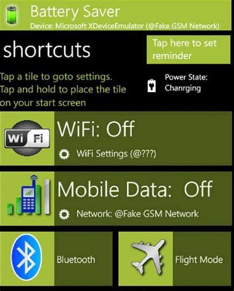 best battery saver best windows phone battery saving apps