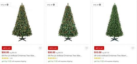 target 50 off wondershop christmas trees