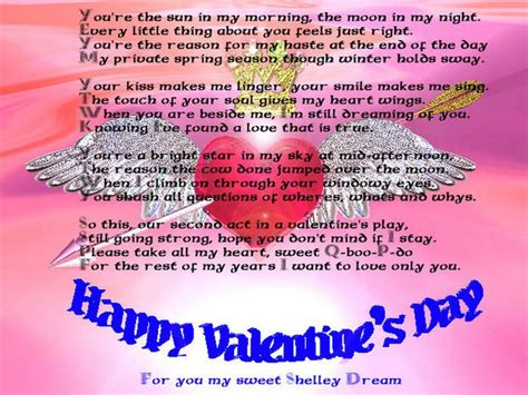 day messages for 25 best ideas about valentines day poems on