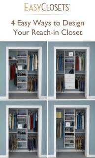 customize your reach in closets with closet concepts 4 ways to design your reach in closet closet organizers
