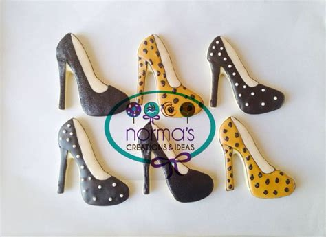 high heel cookies 17 best images about decorated cookies on