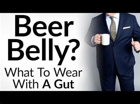what a man to wear at 45 years old stylish with a beer belly dress sharp with a gut