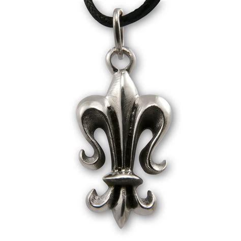 Stainless Steel Fleur De Lis Stainless Steel Pendant Fleur De Lis Necklaces And
