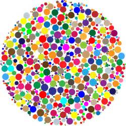 colorful circles clipart colorful circle fractal
