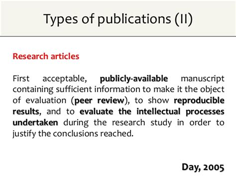 Literature Reviews Contain Two Types Of Data by Publication In Scientific Journals Impact Factors