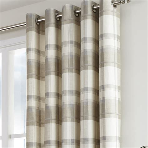 Organic In The Uk Check It Out by Check Eyelet Curtains Integralbook