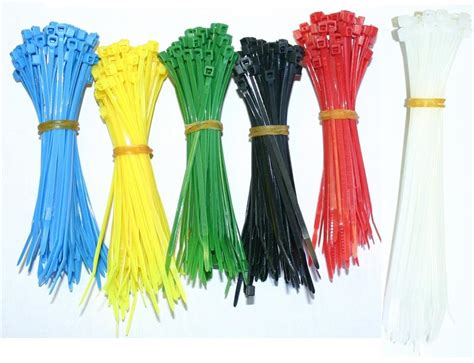 colored zip ties 400pcs cable zip ties multi color