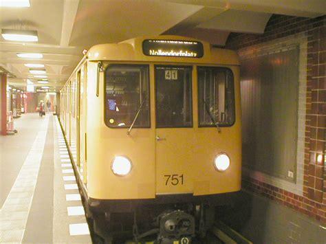 Subway Berlin Wi by Berlin U Bahn Rolling Stock