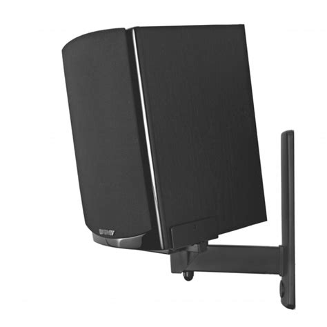 pinpoint side cling bookshelf speaker wall mount