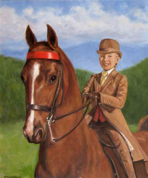 painting workshop horses student academy m theresa brown stephen filarsky