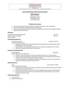 Us Resume Template by American Style Resume Sle Resume Format