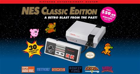 nintendo entertainment system nes classic edition site open nintendo everything