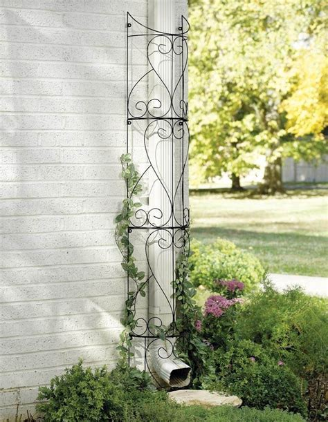 Metal Plant Trellis New Metal Circular Outdoor Garden Trellis Yard Outdoor