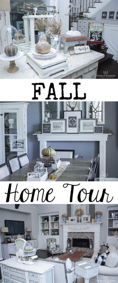 fall home tour 2017 pumpkins neutrals plaids texture