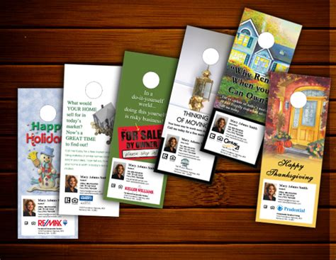 open house ideas for real estate real estate door hangers online designs ideas templates custom artwork announce