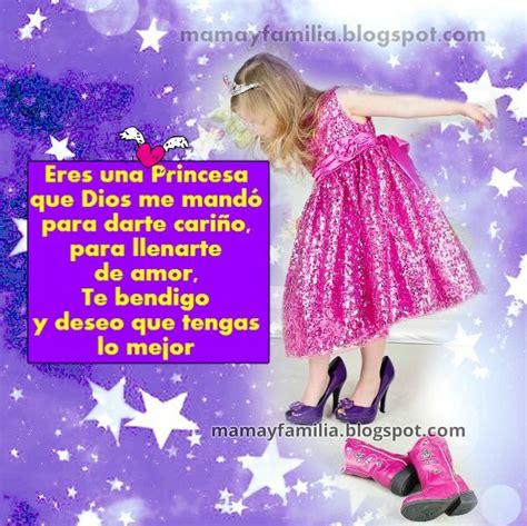 imagenes de amor para mi sobrina eres una princesa que dios mand 243 para darte cari 241 o