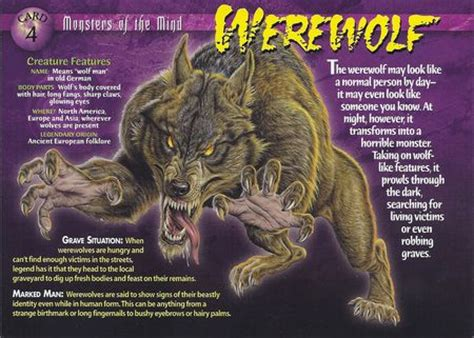 werewolf | wierd n'wild creatures wiki | fandom powered by
