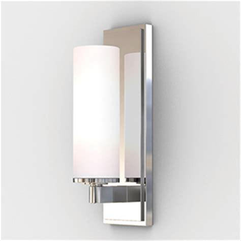 Modern Bathroom Lights Uk Astro Lighting Savio Modern Polished Chrome Bathroom Wall