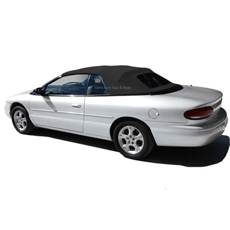 1996 2000 chrysler sebring convertible tops   black