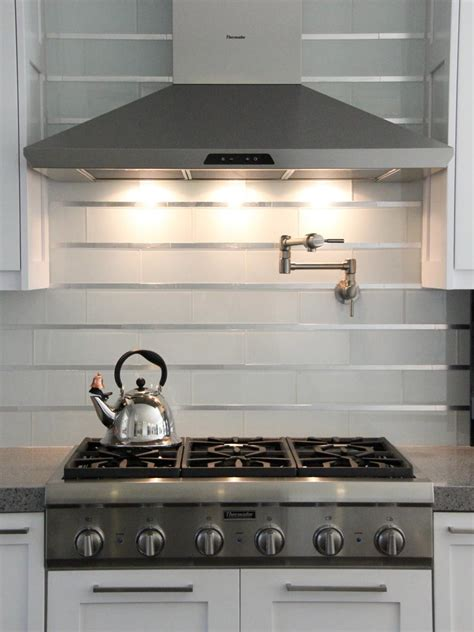 kitchen design idea install a stainless steel backsplash 20 stainless steel kitchen backsplashes subway tiles