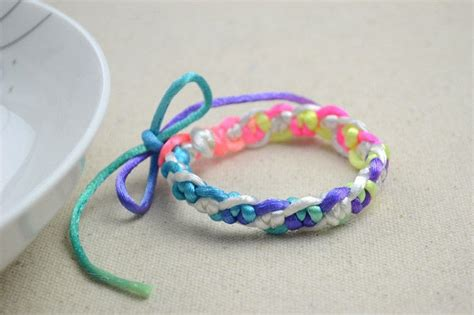 How To Make A Handmade Bracelet - handmade gift ideas snake knotted bracelet 183 how to