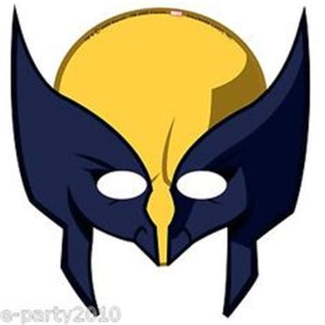 printable wolverine mask 1000 images about logan s first birthday on pinterest