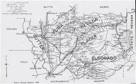 map of nevada county ca nevada county
