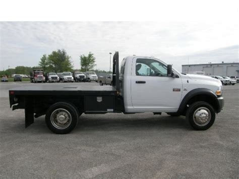 dodge 4500 flatbed truck for sale