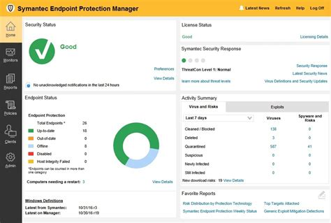 Symantec Norton Endpoint Protection 14 Box 10 User symantec endpoint protection manager default username and