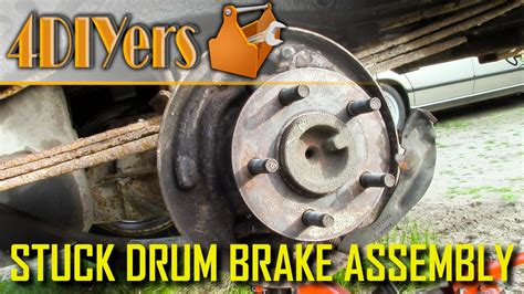 stick on brake 3 reasons for a brake drum to stick youtube
