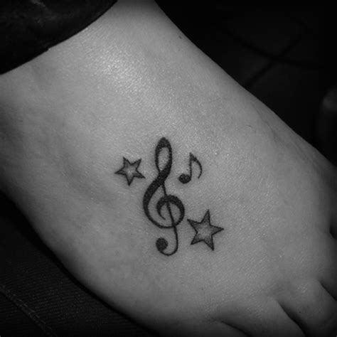 music notes with stars tattoo designs 25 cool notes pictures for your inspiration
