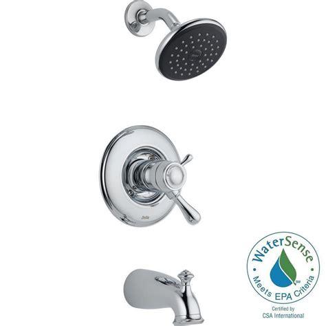 Delta Leland Kitchen Faucet by Delta Leland Tempassure 17t Series 1 Handle Tub And Shower