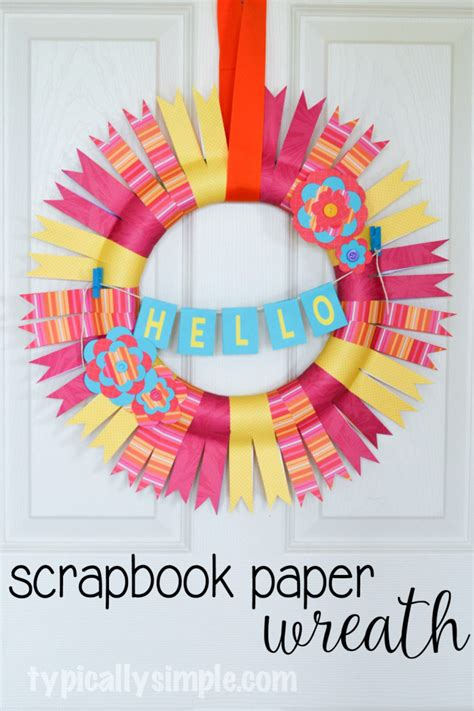 Scrapbook Paper Crafts Ideas - paper crafts for your home the craft