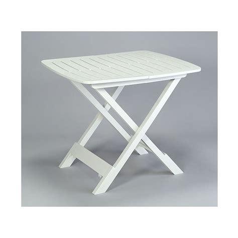 tavolo plastica pieghevole tavolo tevere bianco mondobrico arredo giardino