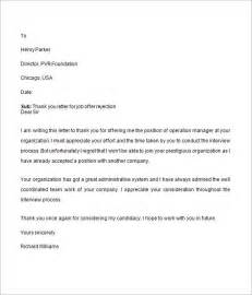 offer letter 9 free for word