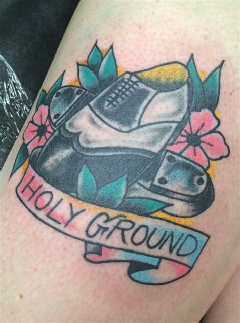 sid s tattoo parlor my retro tap shoes flowers holy ground by bill