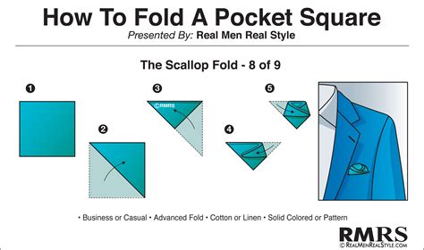 How To Make A Square In A Square Quilt Block by How To Fold A Pocket Square The Scallop Fold