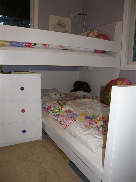 bunk beds for kids ikea ikea hackers malm toddler bed under malminspired bunk