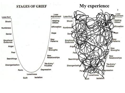 cycle of grief diagram best 25 stages of grief ideas on grief stages