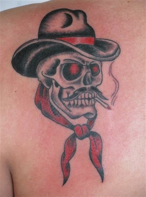 western cowboy tattoos designs cowboy tattoos