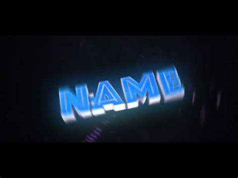 free ae c4d intro template cool 3d text intro 328