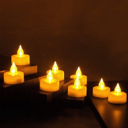 decorative electric candles set flameless led battery operated tealight candles flickering