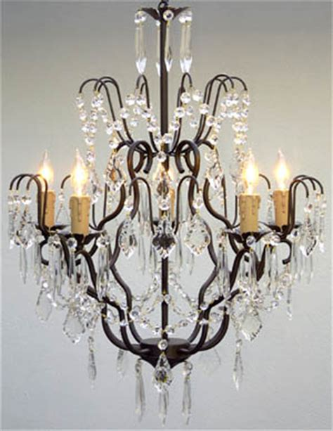 gallery versailles 5 light black wrought iron chandelier p7 black c 3033 5 gallery wrought with crystal