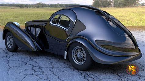 bugatti atlantic bugatti atlantic 3d model lwo lw lws cgtrader com