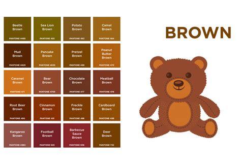 colors of brown brown pantone inhabitots