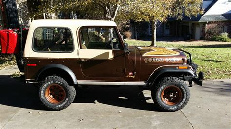 jeep cj golden 1979 jeep cj7 golden eagle 304 v8 4 speed levi package