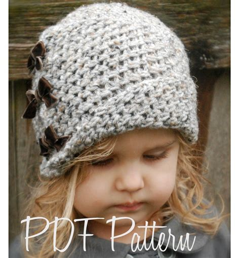 crochet pattern cute hat crochet pattern the paiyton cloche toddler child and
